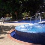 Zona de piscina y Jacuzzi.