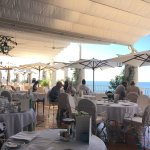 Outdoor dining at Le Sirenuse - for breakfast and lunch