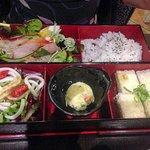 Eine Bento-Platte