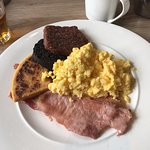 amazing Scottish breakfast at Brambles