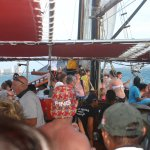 Onboard the Jolly Pirate
