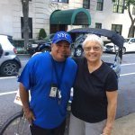 Patty with our great guide from NYPS