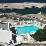 Swimming pool at the Kouros