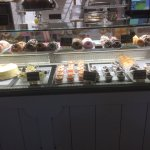 A great choice of delicious cakes and pastries