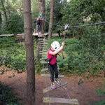 Nice courses between trees and zip-lines with high security standards