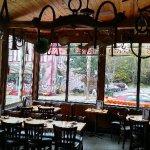 Dining room facing main street
