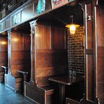 Loved the wood booths