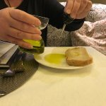 Olive Oil served with an eye dropper
