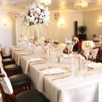 Private dining rooms for weddings, corporate or birthday parties