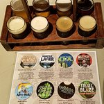 Fun flight of ABC craft brews