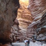 Music adds enchantment to Blacktail slot Canyon.