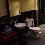 Bathroom. Double basins and double shower
