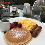 American Breakfast instead of buffet