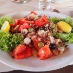 Octopus Salad (it was great!)