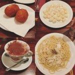 Suppli, gnocchi, cacio e pepe and tiramisu - all incredible!
