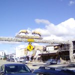 Antler Arch in Afton Wyoming