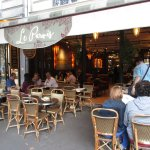 Le Parvis. Food wasn't good, and was way overpriced.
