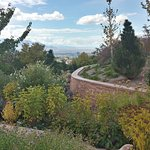 View of Salt Lake City from the Children's Garden