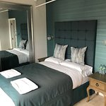Newly refurbished superior rooms. All beds in the hotel have now been replaced as part of an ong