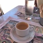 Cuban coffee. Pricey but good! (but won't pay that price again for this.)