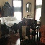 Victorian-era bedroom