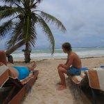 Foto de Playa Xcanan Cabanas Tulum