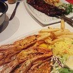 Queen prawns. 500g ribs