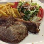Excelente plato de Chuleta de Avila