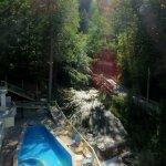 Mineral aquatonic outdoor pool.