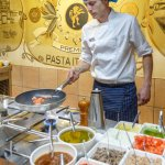 Show cooking pasta - La Basílica