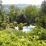 La piscine vue de l'hôtel. En bas.... Sarlat