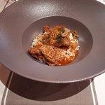 riz pilaf /veau