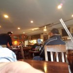 Across the restaurant towards the Counter/Bar area