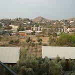 Aussicht von der Terrasse auf Klein-Windhoek