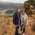 We can't stop smiling - this is a beautiful place - Cap Canaille, overlooking Cassis.