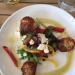 grilled scallop appetizer