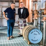 Raasay Distiller Co-Founders Bill Dobbie and Alasdair Day