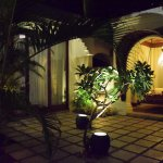 Villa outside - Night View