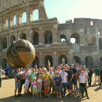 Second stop during the Panoramic Tour of Rome