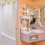 One Queen Guest Bathroom