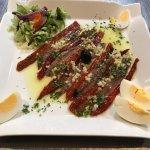 Filet d anchois et poivron