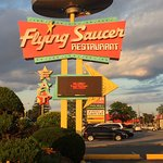 Just look for the Flying Saucer on Lundy's Lane.