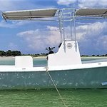 Clearwater Fishing Charters in a 2017 23' Hanson Skiff