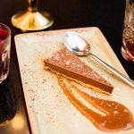 Chocolate & Liverpool Rum torte, Sea Salt Caramel, Chocolate Crumb