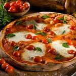 Pizza Margherita DOC com burrata !!!