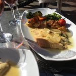 Fantastic lunch in the sun