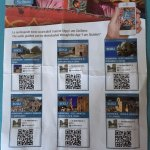The online app describing different monuments