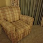 Old chair in room 534.