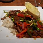 A really delicious ginger beef stir-fry!