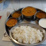 My vegetarian Talli (plate) meal